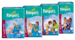 Pampers Nappies coupon